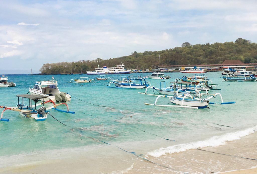 Pantai Blue Lagoon, Karangasem, Bali