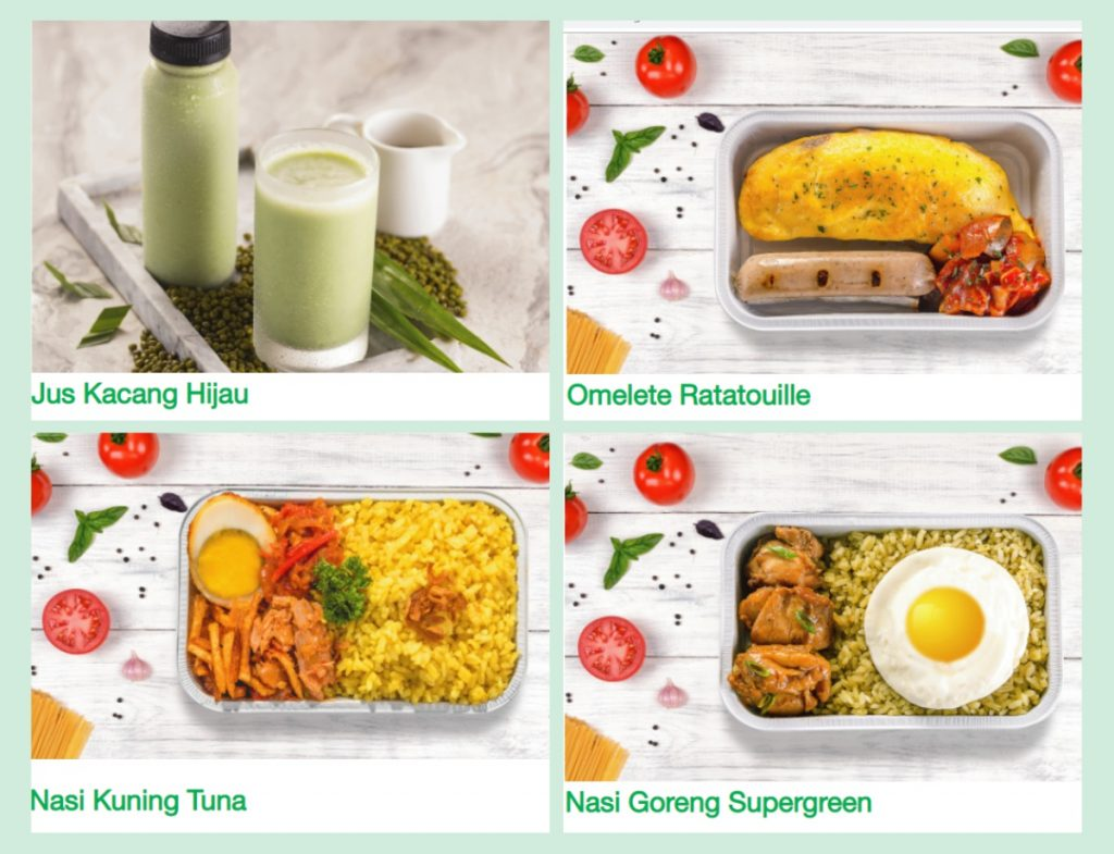 Meal on plane, pesannya via web Citilink ya, gaes