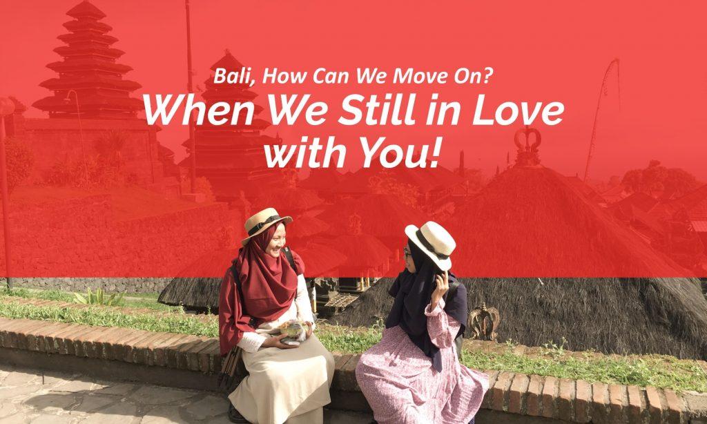 Oh, Bali...
