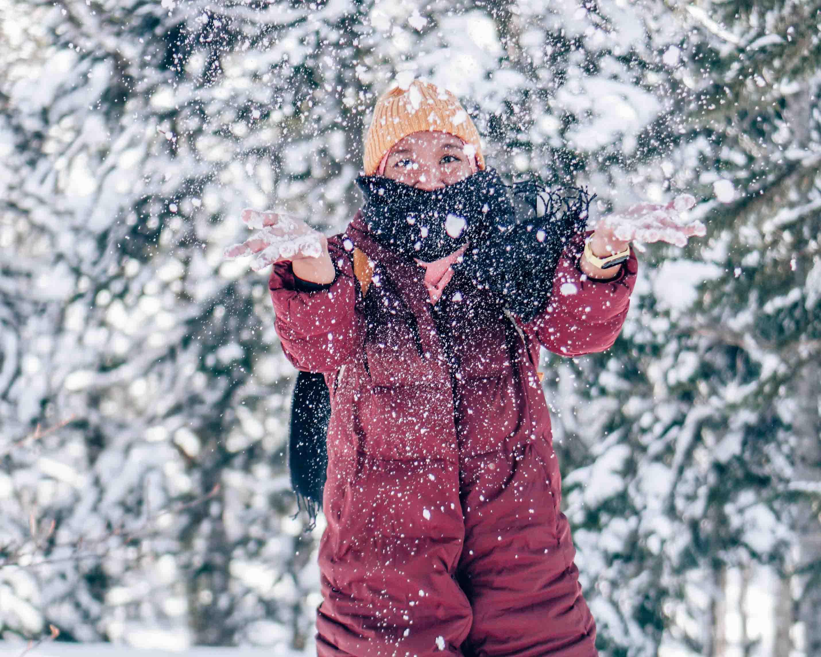 Snow, akhirnya bisa memegangmu....