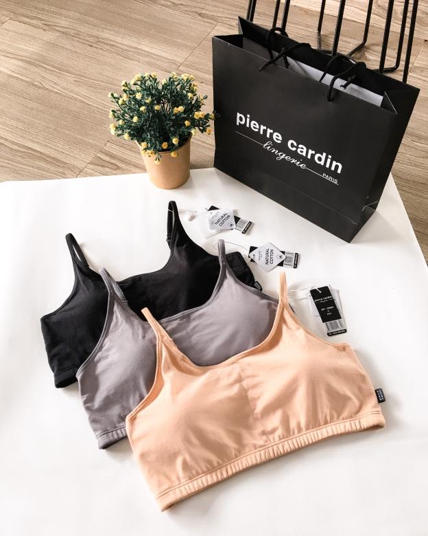 Comfort Cotton Bra punya 3 pilihan warna: Black, Grey and Brown